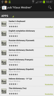 App - Hacker's Keyboard - Get dictionaries