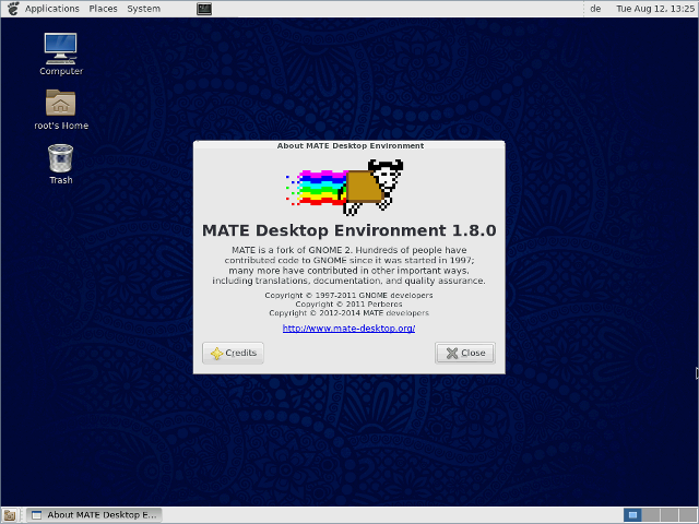 |CentOS 7 - DVD - MATE Desktop