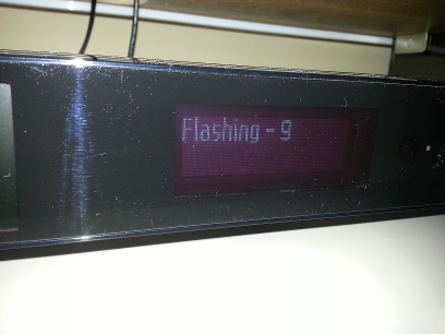 VU+ (VU Plus) Duo² - VF-Display - Flashing